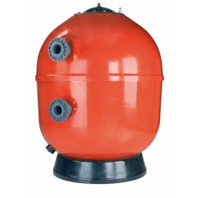 Фильтр ламинированный  VESUBIO без вентиля (боковой тип подключения, выход 75 мм.) D1400 мм., Fluidra Испания