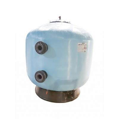 Фільтр мотаный скловолокно PRAGA без вентиля (бічний тип підключення, вихід 90 мм.) D1400 мм., Fluidra