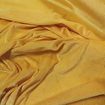 Ткань велюр стрейчевый желтый, фото 2