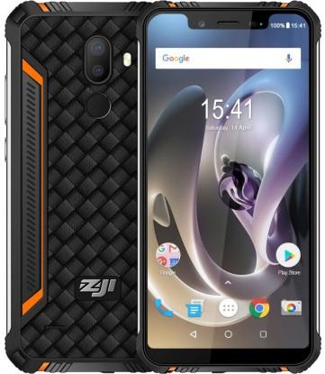 "Смартфон ZOJI Z33 Orange 3/32Gb, 16+2/13Мп, 8 ядер, 2sim, экран 5.85"" IPS, 4600mAh, GPS, 4G (LTE)"