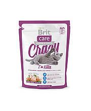 Корм для котят Brit Care Cat Crazy (для котят) 0,4кг