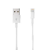 USB - Lightning 1м білий /Original Pac.