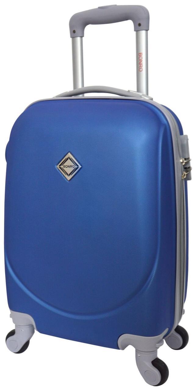 Валіза Bonro Smile міні ручна поклажа синя (10051802)