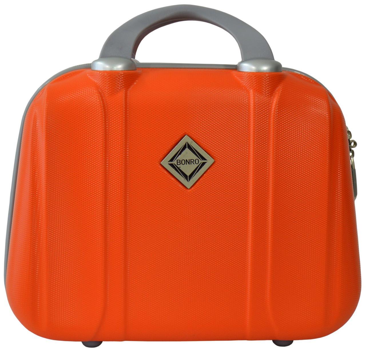 Кейс дорожный Bonro Smile средний оранжевый (10091413)