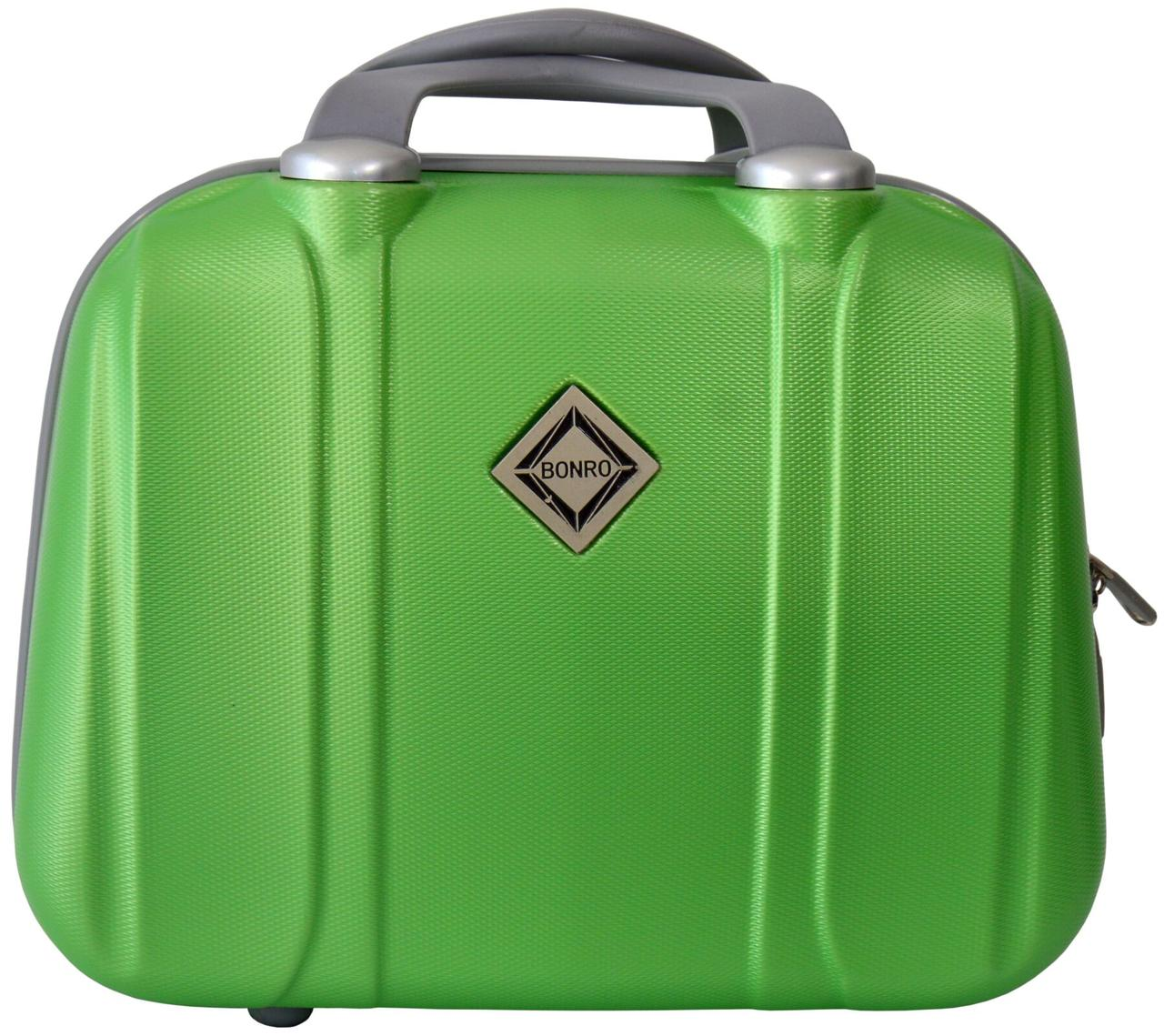 Кейс дорожный Bonro Smile большой салатовый (10091606)