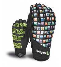 Гірськолижні рукавички чоловічі Level i-Runner Pk Rainbow   розмір -8,5 (M/L)