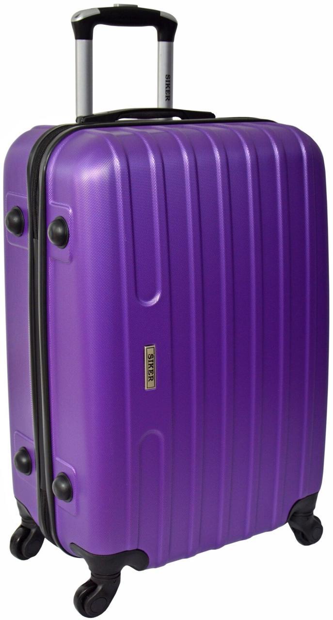 Валіза Siker Line середня фіолетова (10142403)