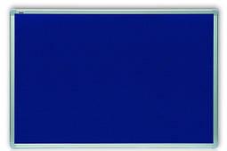 Доска текстильная 2x3 в алюминиевой рамке ALU23 90 x 120 см синяя