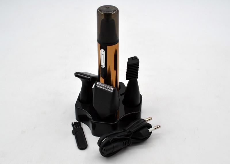 Триммер гигиенический для носа и ушей с встроенным аккумулятором AOKE AK-6619(Реплика)