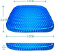 Ортопедическая гелевая подушка для сидения Egg Sitter ( Реплика), фото 6
