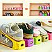 Органайзер для хранения обуви | Двойные стойки для обуви Shoe Slotz ( Комплект 6шт), фото 2