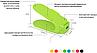 Органайзер для хранения обуви | Двойные стойки для обуви Shoe Slotz ( Комплект 6шт), фото 4
