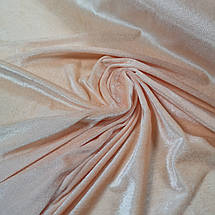 Ткань велюр стрейчевый персиковый, фото 2