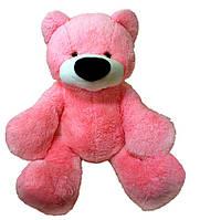 Медведь сидячий «Бублик» розовый