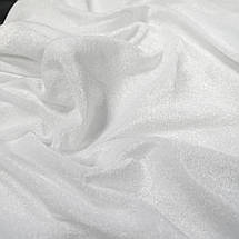 Ткань велюр стрейчевый белый, фото 2