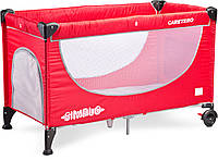 Детская кровать манеж Caretero Simplo Red, фото 1