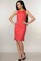 Женское платье-футляр без рукавов (Флейми ri), фото 3