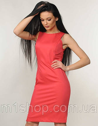 Женское платье-футляр без рукавов (Флейми ri), фото 2