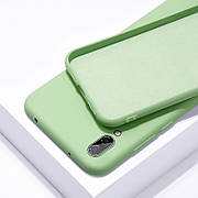 Силиконовый чехол SLIM на Meizu 16S Pro  Mint