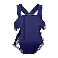 Сумка-кенгуру SUNROZ YEBD-2 Baby Carrier рюкзак для переноски ребенка Синий (SUN0980)