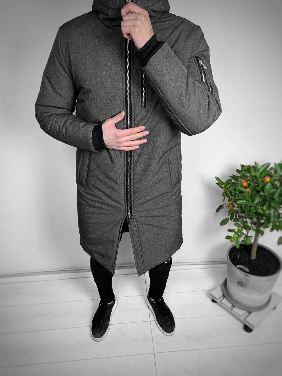 Чоловіча куртка. Чоловіча парку.
