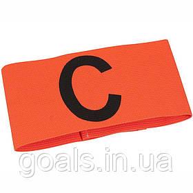 Капитанская повязка SELECT CAPTAIN'S BAND (012), оранжевый, Junior? эластичная