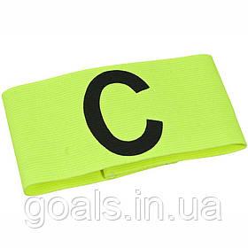 Капитанская повязка SELECT CAPTAIN'S BAND (012), желтыйi, Senior