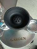 Новинка ! Кальян Garden Premium высота 65  см чаша калауд чёрный, фото 4
