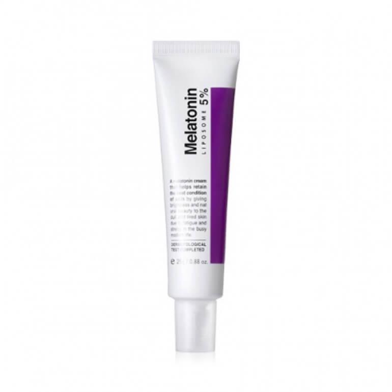 Крем с мелатонином предупреждающий старение MaxClinic Time Return Melatonin Cream, 25 мл