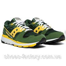 Кроссовки мужские Saucony Azura, 70437-10s (Оригинал), Зеленый/Желтый, фото 2