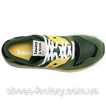 Кроссовки мужские Saucony Azura, 70437-10s (Оригинал), Зеленый/Желтый, фото 3