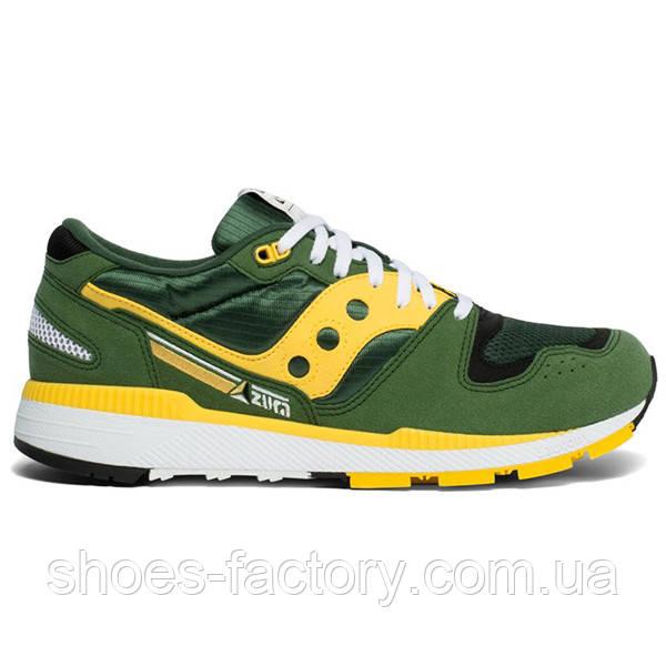 Кроссовки мужские Saucony Azura, 70437-10s (Оригинал), Зеленый/Желтый