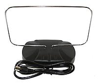 TV-антенна комнатная DVB-T/T2 TN-015U, пассивная рамка на подставке