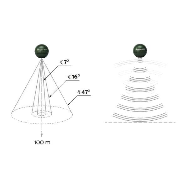 deeper Эхолот (картплоттер) Deeper Smart Sonar CHIRP+ W5547