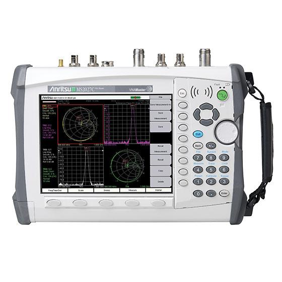 Портативные векторные анализаторы электрических цепей Anritsu серии MS20xxC VNA Master