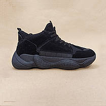 SALE Adidas Yeezy 500 Черные |КОПИЯ| мужские кроссовки адидас изи 500 \, фото 2