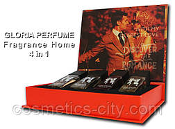 Набор мини-парфюмов Gloria Perfume DISCOVER THE ROMANCE 4*15 ML (13-5-11-20)