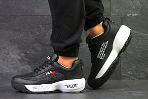 Мужские кроссовки Fila Disruptor 2 Yalor, черно-белые 41р