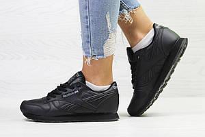 Подростковые демисезонные кроссовки Reebok,черные