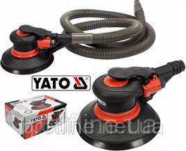 Пневмошлифмашинка эксцентриковая 150 мм YATO YT-09740