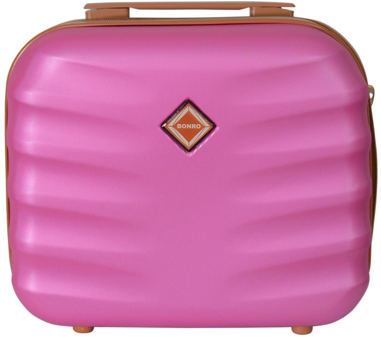 Кейс дорожній Bonro Next середній розовий (10060106)