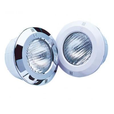 Світильник галогенний для басейну Fluidra STANDARD з оправою ABS-пластик білий, з кабелем, 300W (під бетон)