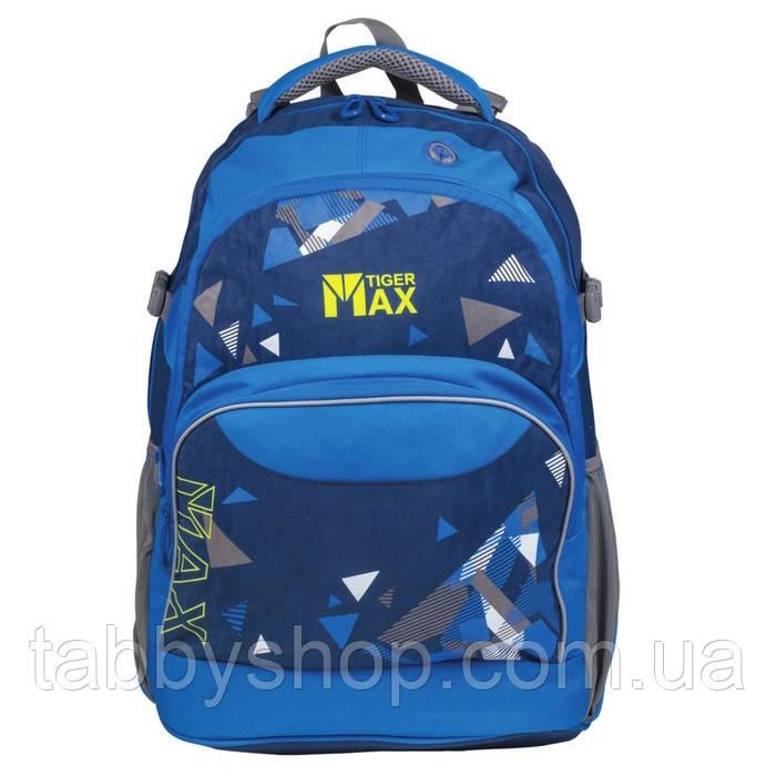 Рюкзак ортопедический подростковый TIGER Family Discovery Plus Blue