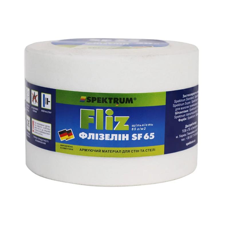 Лента для швов гипсокартона Spektrum Fliz SF 65, 0,1x50 м