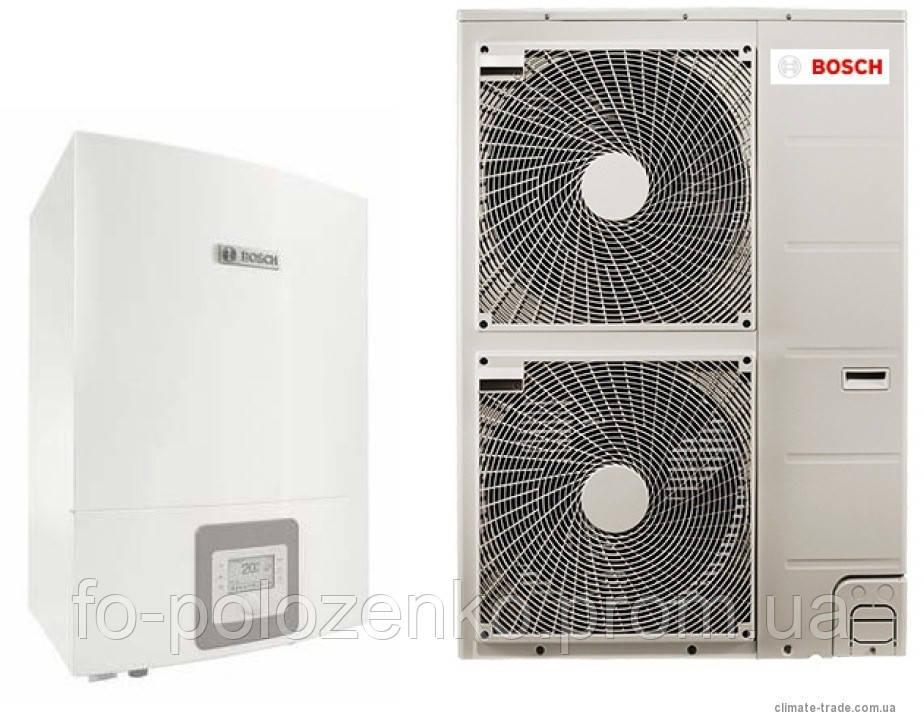 Воздушно-водяной тепловой насос Bosh Compress 3000 AWES 8 кВт