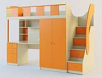 Детская кровать-чердак ДМ 416