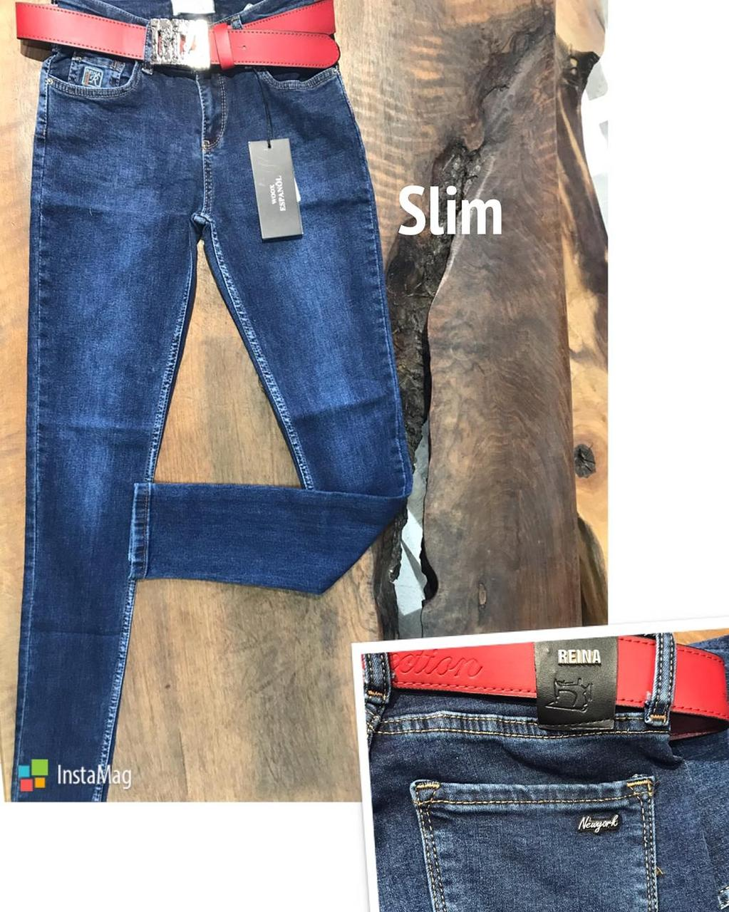 Джинсы Wooxjns Denim (Slim)