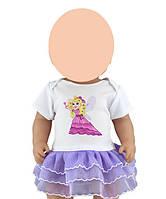 Одежда для куклы до 43см (платье с феей )