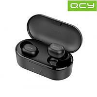 Безпровідні Bluetooth навушники QCY QS2 black (800 mAh)