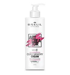 BRELIL UNIKE CURLY MEMORY CREAM Крем для вьющихся волос с эффектом памяти 200 мл